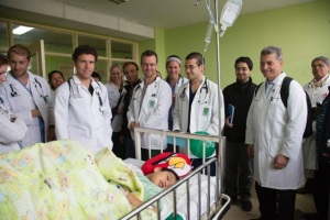 Group at Peds Hospital